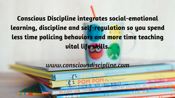 Conscious Discipline integrates social-emotional learning, discipline and self-regulation so you spend less time policing behaviors and more time teaching vital life skills. https://consciousdiscipline.com